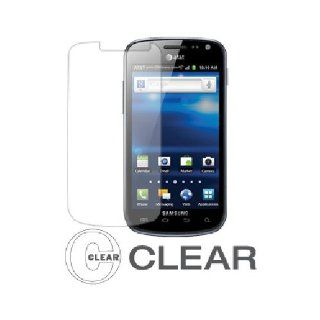 Clear Screen Protector for Samsung Galaxy Exhilarate SGH I577 Cell Phones & Accessories