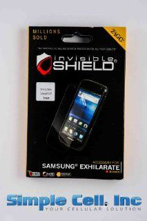 Zagg invisibleSHIELD Screen Protector for Samsung Galaxy Exhilarate SGH I577   Screen Electronics