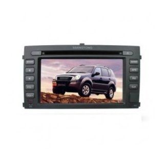 Chilin Car DVD for SSangYong High Inch Touchscreen Double DIN Car DVD Player & In Dash GPS Navigation System  In Dash Vehicle Gps Units  GPS & Navigation