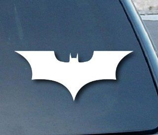 "Batman Begins Car Window Vinyl Decal Sticker 8"" Wide (Color White)"