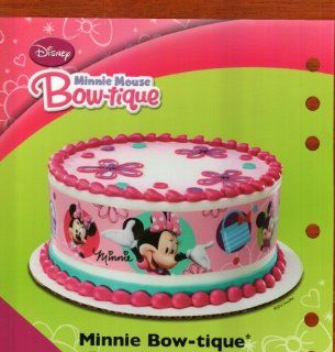Minnie Mouse Designer Prints Edible Cake Image