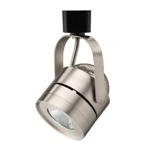 Lithonia Lighting Mesh Back 1 Light Brushed Nickel Integrated LED Track Lighting LTIHMSBK BN M4