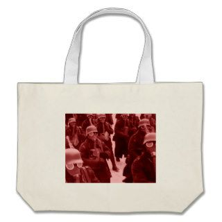 Million Citizen March RED Canvas Bag