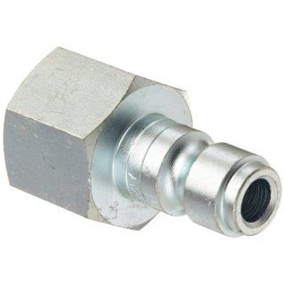 "Dixon Valve DCP624 Steel Air Chief Automotive Interchange Air Fitting, Quick Connect Plug, 3/8"" Coupler x 1/2"" NPT Female Thread, 70 CFM Flow Rating Quick Connect Hose Fittings"