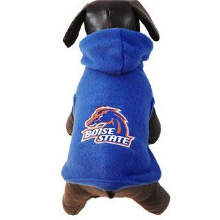 NCAA Boise State Broncos Polar Fleece Hooded Dog Jacket, XX Small Sports & Outdoors