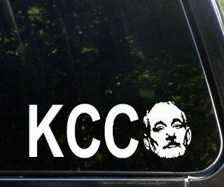 "KCCO, Keep Calm Chive On With Murray Face (8 3/4"" X 3"") Funny Die Cut Decal For Windows, Cars, Trucks, Laptops, Etc Automotive"