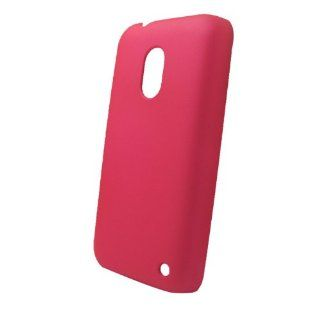 BenColor 1X Colorful Rigid Plastic Hard Back Cover Case Skin Shell for Nokia Lumia 620 Rose Cell Phones & Accessories