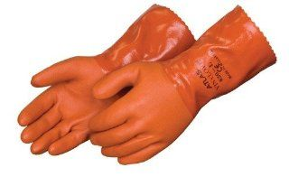 Atlas 620 Double Dipped 12 PVC Chemical Resistant Gloves   Dozen   Medium Health & Personal Care