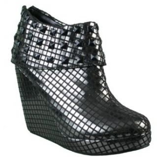Iron Fist Heavy Metal Pewter Wedge Shoe Size 5 Clothing