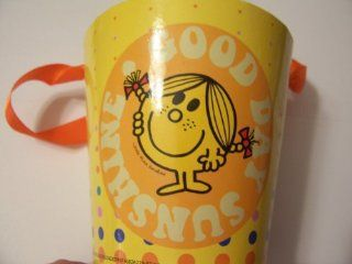 Mr. Men & Little Miss Paper Pail ~ Little Miss Sunshine (Yellow with Dots) Toys & Games
