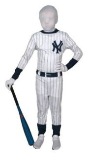 Boys New York Yankees Baseball Costume sz Medium 7 8 Clothing