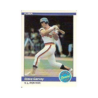 1984 Fleer #628 Steve Garvey Iron Man Sports Collectibles