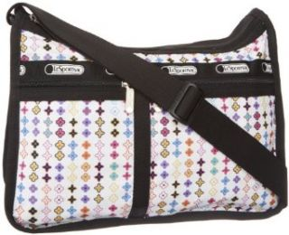 LeSportsac Deluxe Everyday Nylon Shoulder Bag,Roulette,One Size Clothing