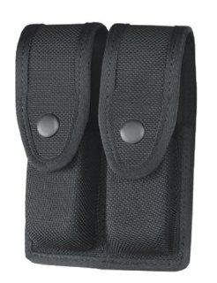 Gould & Goodrich X629 45 Double Magazine Case fits Sw M and P .45 (Black Ballistic Nylon)  Gun Ammunition And Magazine Pouches  Sports & Outdoors