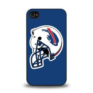 Gifts for Christmas and New Year Snap on iPhone 4 4S case protective skin cover with NFL BILLS Team Logo Helmet design #3 Cell Phones & Accessories