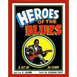 Heroes of the Blues Boxed Trading Card Set by R. Crumb Robert Crumb 9780971008021 Books