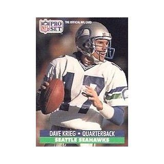 1991 Pro Set #664 Dave Krieg Sports Collectibles