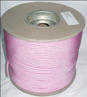 1, 000 ft Spool 650 Parachute Cord Paraline 4 Strand   ROSE PINK  Tactical Paracords  Sports & Outdoors