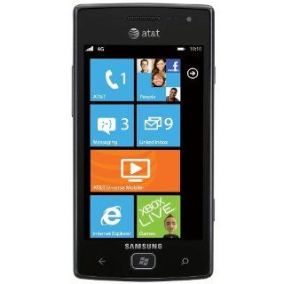 Samsung Focus Flash I677 8GB Unlocked GSM Phone with Windows 7.5 OS, 5MP Camera, GPS, Wi Fi, Bluetooth and FM Radio   Black Cell Phones & Accessories