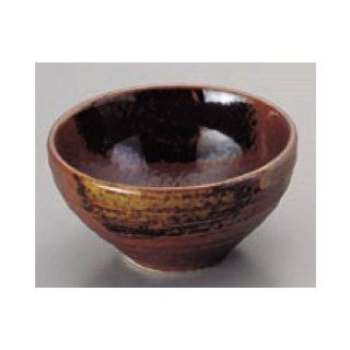 bowl kbu096 21 652 [40.16 x 21.66 inch] Japanese tabletop kitchen dish Small bowl small Bizen wind ash hanging ball split small bowl [102x55cm] restaurant restaurant business for Japanese inn kbu096 21 652 Kitchen & Dining