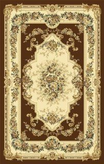 Black Ivory Burgundy Green Beige 5x7 (5'2x7'2) Black Isfahan Area Rug Oriental Carpet Large New 662   Machine Made Rugs
