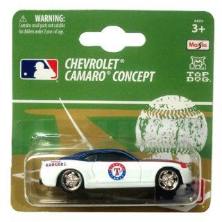 MLB Texas Rangers 164 Camaro Die Cast Car  Sports Fan Toy Vehicles  Sports & Outdoors