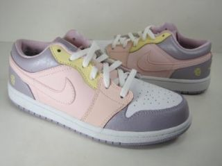 JORDAN GIRLS JORDAN 1 LOW (322709 671) PRESCHOOL KIDS BASKETBALL SHOES Shoes