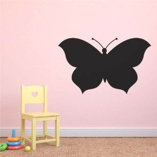 Repositionable Butterfly Chalkboard Wall Sticker   Large (1152 x 696 mm) Decal   Childrens Dry Erase Boards