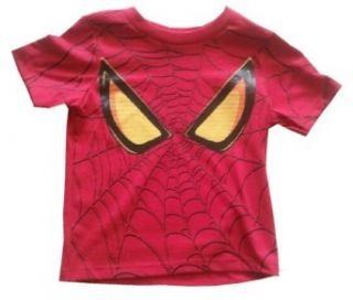 SPIDERMAN   Spider man Face   Red Toddler T shirt   size Small (2T) Clothing