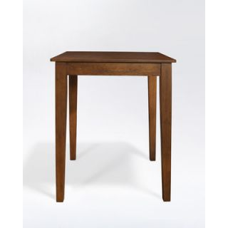 Crosley Tapered Leg Pub Table in Classic Cherry
