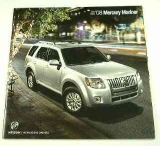 2008 08 Mercury MARINER Truck SUV BROCHURE Premier  Other Products