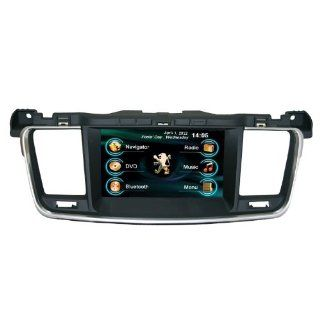 OEM REPLACEMENT IN DASH RADIO DVD GPS NAVIGATION HEADUNIT FOR PEUGEOT 508 WITH REAR VIEW CAMERA  In Dash Vehicle Gps Units  GPS & Navigation