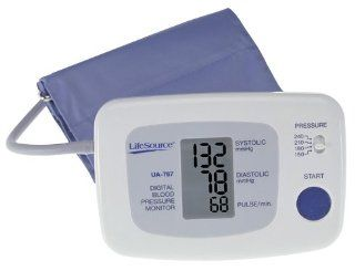 LifeSource UA 767VL One Step Auto Inflate Blood Pressure Monitor with Large Cuff Health & Personal Care