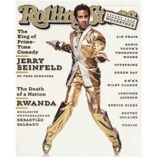 Rolling Stone Magazine # 691 September 12 1994 Jerry Seinfeld (Single Back Issue) Rolling Stone Books