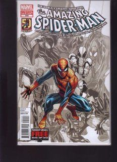 MARVEL THE AMAZING SPIDER MAN #692 BLACK AND WHITE VARIANT EDITION