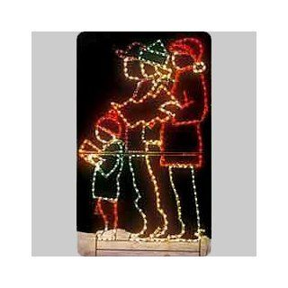 Holiday Lighting Specialists 692 Christmas Carolers Outdoor Light   Outdoor Decor