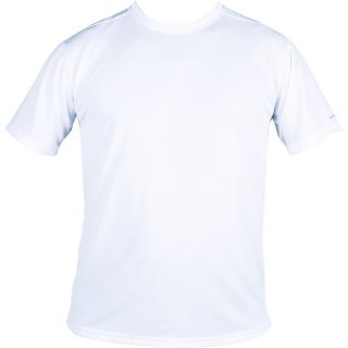 Dolfin Short Sleeve Tech Tee Mens   Size XL/Extra Large, White (387CM 100 XL)