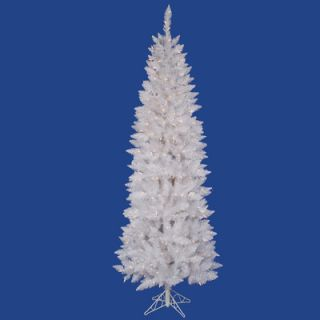 Vickerman Crystal White Spruce 4.5 Artificial Christmas Tree with 180