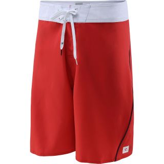 RIP CURL Mens Color Bomb Boardshorts   Size 30, Red