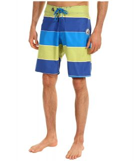 Volcom Magura Stripe Boardshort Mens Swimwear (Blue)