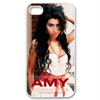 Iphone4/4S cover Amy Winehouse Hard Silicone Case Cell Phones & Accessories