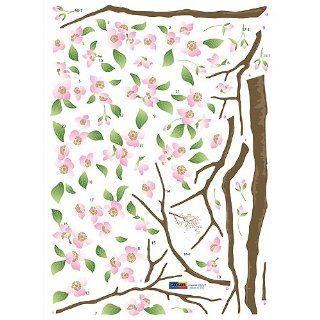 Cherry Blossoms Repositional Wall Decal   Hyundae Sheet