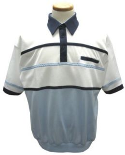 1 pocket banded bottom polo shirt at  Men�s Clothing store