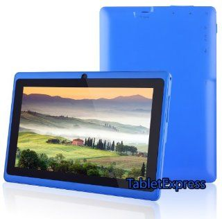 7'' Blue Google Android 4.0 8GB Allwinner A13 Tablet MID Cortex A8 1.2GHz, Capactive Multiple Touch Screen, Built in Camera, Google Play Pre Installed, USB OTG, Supports Skype Video Chat Calling, Netflix Movies and Flash Player, Dragon Touch(TM) MI