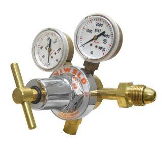 Uniweld RUH8215 Medium/Heavy Duty Single Stage Nitrogen Regulator with a CGA580 Inlet   Welding Gas Regulators