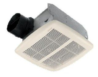 Broan 770 50 CFM 1.5 Sone Ceiling Mounted Energy Star Rated and HVI Certified Bath Fan, White   Built In Household Ventilation Fans