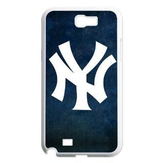 DIRECT ICASE Pop MLB Samsung Case New York Yankees Baseball Team Logo Design for Best Samsung Galaxy Note2 N7100 Hard Case (AT&T/ Verizon/ Sprint) Cell Phones & Accessories