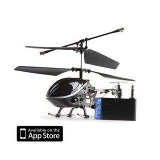 3 Channel i Helicopter 777 170 with Gyro Controlled by iPhone/iPad/iPod Touch (Black) Toys & Games