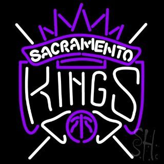 "Sacramento Kings NBA Outdoor Neon Sign 24"" Tall x 24"" Wide x 3.5"" Deep  Business And Store Signs"