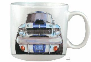 FORD MUSTANG SHELBY Koolart 10 fl oz CERAMIC MUG Customised FREE760   Mustang Car Mug